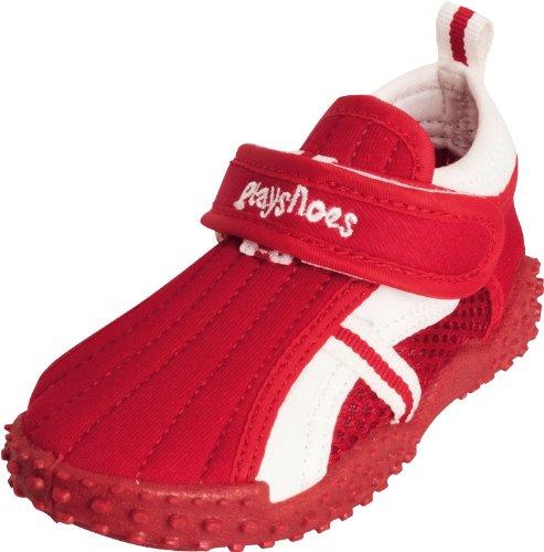 Playshoes Mädchen UV-Badeschuhe Aqua Schuhe, rot 8), 18/19 EU