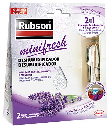 Rubson MiniFresh, deshumificador armarios fragancia