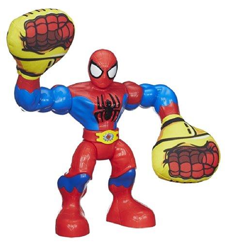 PLAYSKOOL HEROES MARVEL SUPER HERO ADVENTURES SLING ACTION SPIDER-MAN FIGURA