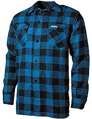 Holzfäller Hemd Canadian Woodcutter rot-schwarz S-XXL