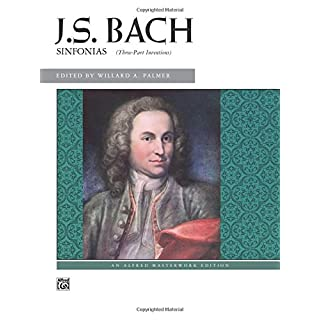 Bach -- 3-Part Inventions (Sinfonias) (Alfred Masterwork Editions)