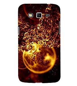 Fuson Designer Back Case Cover for Samsung Galaxy Grand 2 :: Samsung Galaxy Grand 2 G7105 :: Samsung Galaxy Grand 2 G7102 :: Samsung Galaxy Grand Ii (Foam Foamy Orange Shining Foam Orange Foam)