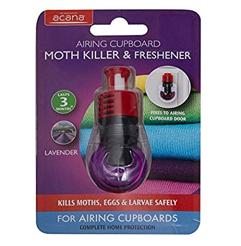 Acana 2931-1 Airing Cupboard Moth Killer and Lavender Freshener - Purple