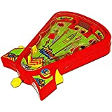 Table Top Pinball Game - Desktop Arcade Pin Ball Board Game For Ages 5 And Up | Portable Tabletop Single Player Pinball Skills Game - Classic Edition