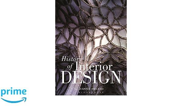 History Of Interior Design Amazoncouk Jeannie Ireland 9781563674624 Books