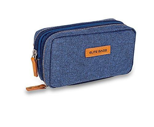 Diabetiker-Thermo-Tasche für Diabetiker, Farbe: Jeans-dunkel, für Insulin- und Glucounter.