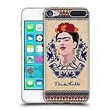 Head Case Designs Offizielle Frida Kahlo Navy Blau Portrait Soft Gel Hülle für Apple iPod Touch 6G 6th Gen