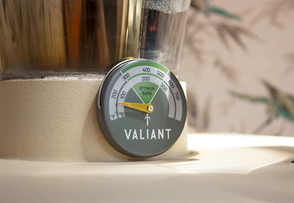 Valiant FIR116 Magnetic Stove Thermometer, Aluminum, Green, 63mm