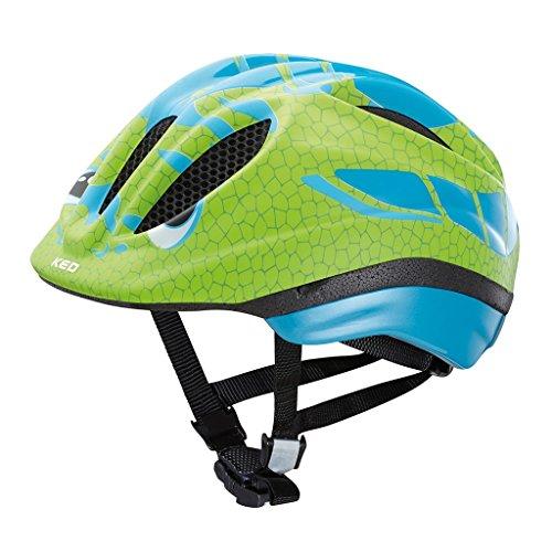 KED MEGGY REPTILE 2016 Kinder-Fahrradhelm Kleinkind viele Farben, Größe:46-51cm;Farbe:Dino Lightblue Green