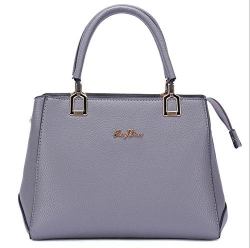 GBT Arbeiten Sie neue Dame-Handtasche um deep gray