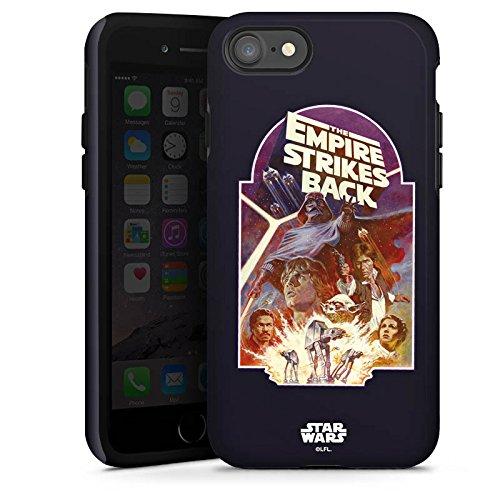 Apple iPhone X Silikon Hülle Case Schutzhülle Star Wars Merchandise Fanartikel The Empire Strikes Back Tough Case glänzend