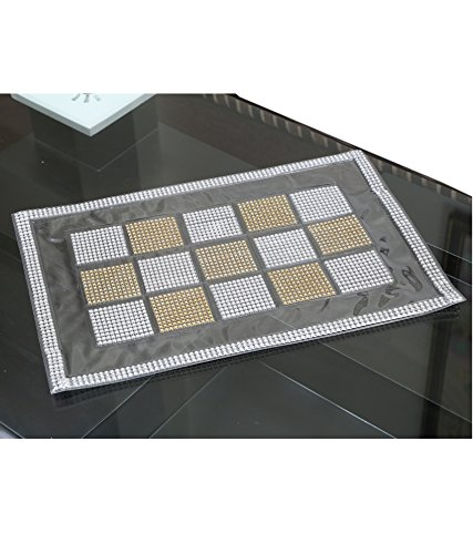 Kuber Industries™ Dining Table Place Mats Set of 6 Pcs in laminated Patch Design