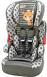 Osann Kinderautositz BeLine SP Luxe Giraffe khaki grün braun, 9 bis 36 kg, ECE Gruppe 1 / 2 / 3, von ca. 9 Monate bis 12 Jahre, mitwachsende Kopfstütze