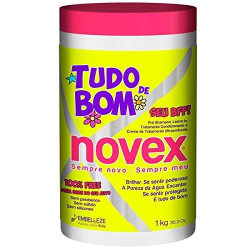 NOVEX - Tudo de BOM . Creme de Tratamento Ultraprofundo - 1 kg