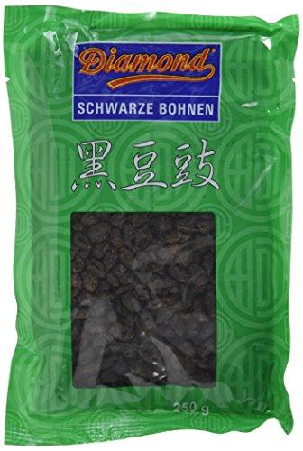 Diamond Schwarze Bohnen, fermentiert und gesalzen, 4er Pack (4 x 250 g)