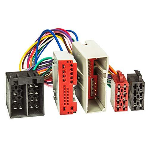 T-Kabel ISO passend für Ford Fiesta,Fusion, Landrover Freelander zur Einspeisung von Freisprecheinrichtung ISO Verstärker für THB Parrot Dabendorf i-sotec Match ()