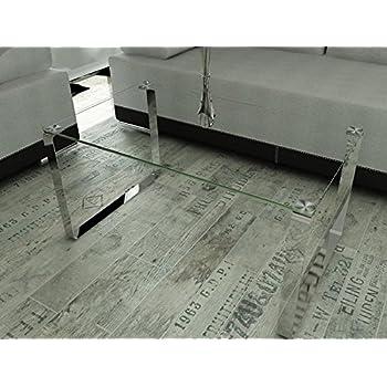 Endo Couchtisch Elia Glas Wohnzimmertisch Tisch 100x60cm