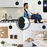 eBoot Solid Metal Wall Mount Stand Holder Stand Bracket for All Echo Dot 2nd Generation (White 1)