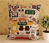 Telecharger Livres Damuyas TV Friends limitee central Perk Lin Couvre lit Taie d oreiller Housse de coussin 4545 cm Coton cartoon1 Size 45 45cm 18 18 (PDF,EPUB,MOBI) gratuits en Francaise