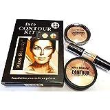 Kiss Beauty Concealer Highlighter & Contour Stick (Set of 3)