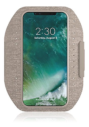 adidas Performance Sport Armband für Apple iPhone X - Sesame -