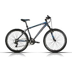 """Megamo Fun Bicicleta de Montaña, Hombre, Gris, 13.5"""""""