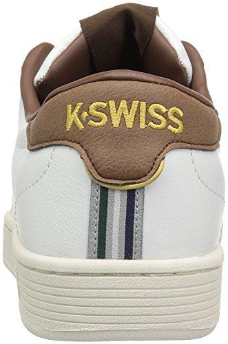 K-swiss Herren Hoke Cmf Sneaker Weiß (classico Bianco / Mustang)