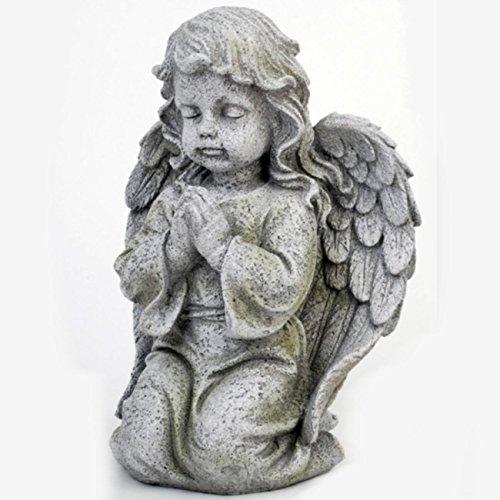 Betende Trostengel Figur kniend - Trauerengel. H 24cm. 1 Stück