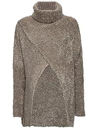 bellybutton Damen Umstands Pullover Rollkragenpullover 1/1 Arm