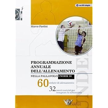 Programmazione Annuale Dell'allenamento Nella Pallavolo Under 14. 60 Sedute Di Allenamento