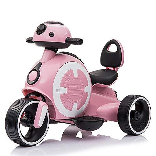 Lotee Elektroauto Kinder Baby Kleinkind Elektroauto Rutschauto Kinderwagen Cabrio Zu Fuß Zu Boden Spielzeug Kinder Fahrt Auf Auto Jungen Und Mädchen Kinder Geschenke Kinder Spielzeug (Color : Pink)