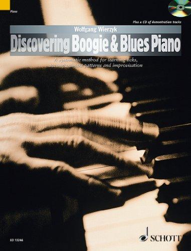 Discovering Boogie and Blues Piano +CD --- Piano (Méthode de Boogie Woogie et de Blues)