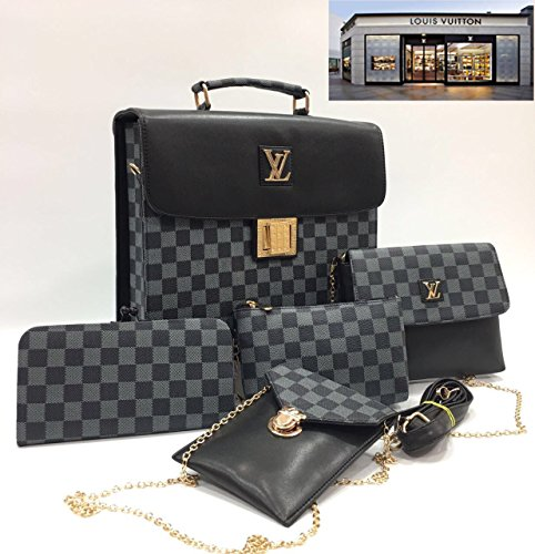 Louis Vuitton Leather Fancy Stylish Handbag for Women, Handbag for Ladies and Handbag for Girls.. (1)
