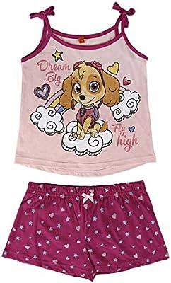 Paw Patrol Skye - pijama sin mangas 2 piezas 100% algodón
