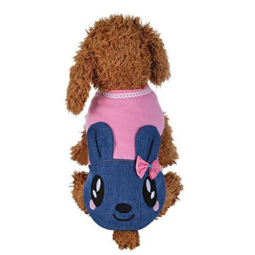 CricTeQleap Überraschungsverkauf Lovely Rabbit Pet Kleidung Hund Welpen -