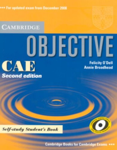 Objective CAE Self-study Student's Book Paperback
