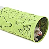PAWZ Road Cat Tunnel Kitten Tube Juguetes para gatos Muti-Choise ( Color : Green )