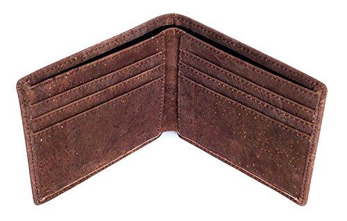 Honest Wallet – Portmonnaie aus 100% natürliches Korkleder und Baumwolle – vegan - 4