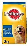 #9: Pedigree Adult Dog Food Chicken & Vegetables, 3 kg Pack