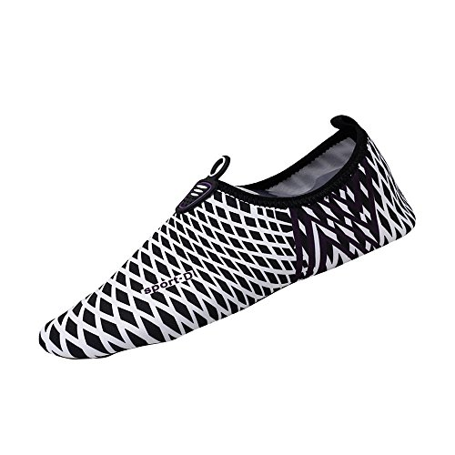 Felicove Herren Damen Barfuß Wasser Schuhe Unisex Aqua Shoes für Strand Schwimmen Surf Yoga Jungen Mädchen Premium Wassersportschuhe