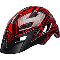 Bell Side Track Youth Children's Cycling Helmet – Red/Black Seeker