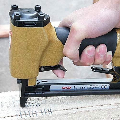 eginvic Air Staple Nail Gun - Leichter pneumatischer Hefter (Kompressor Framing)