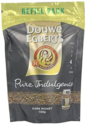 Douwe Egberts Pure Indulgence Instant Coffee Refill 150 g (Pack of 3) by SARZL