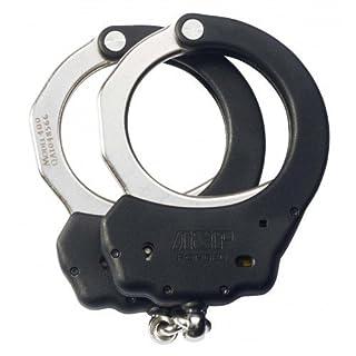 Asp Law Enforcement ASP Black Chain Ultra Handschellen (Stahl) mit überformtem Rahmen, Design