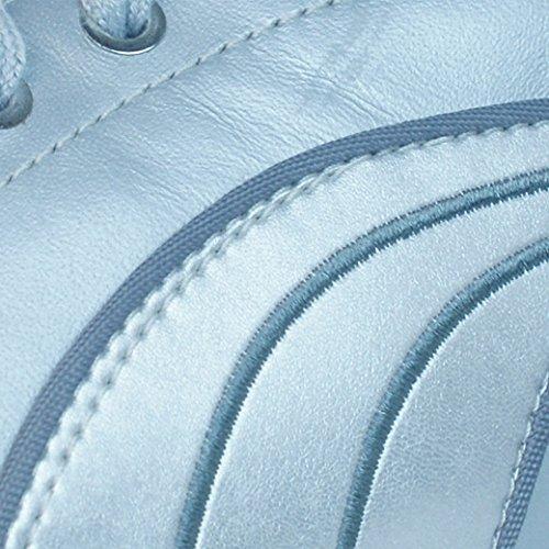Puma Yalu Metallic Frauen Leder-Schuhe Silber