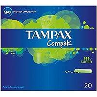 Tampax Compak Applikator Tampons Super (20) - Packung mit 2 preisvergleich bei billige-tabletten.eu