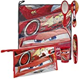Disney 2500000692 Cars Lightning McQueen Overnight Wash Bag and Travel Accessory