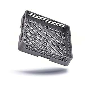 Sp/ülmaschinenkorb Besteckkorb feinmaschig ohne Einteilungen 50x50x10 cm