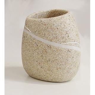 Zahnputzbecher Sand Time for Rock Steinoptik-AWD Design