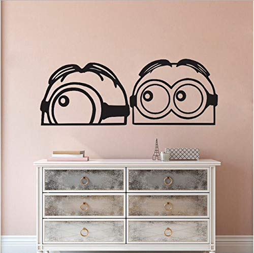 asd137588 Wandtattoo Wandaufkleber Für Kinderzimmer Despicable Me Vinyl Kinder Kindergarten Schlafzimmer Lustige Minion Dream Book Cartoon DIY